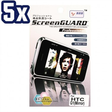 Lot 5x Mirror Screen Protector for HTC G1 Cell Phone