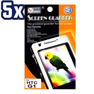 Lot 5x Screen Protector for HTC G1 Cell Phone